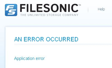 filesonic-error