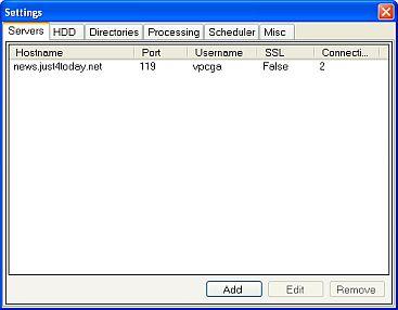 unzbin settings window